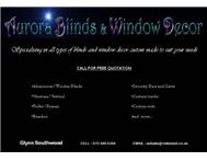 Aurora Blinds & Window Decor