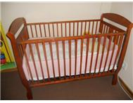 Wooden Cot-R1000 / Graco Camp cot -R700