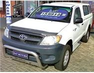 2008 TOYOTA HILUX 2.5 D-4D SRX RAISED BODY SINGLE CAB BAKKIE