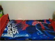 KIDDIES SPIDERMAN / CARS BED