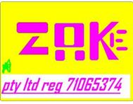 Businesscard and logo Design ( zukhele projects - pty ltd )