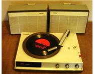 Turntable (Record player) Philips Portable mains Old