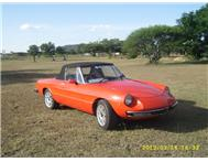 Alfa Spider 2000 - 1977 (Right hand drive)