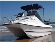 2013 OCEAN CAT 520 FORWARD CONSOL 2 X 70HP YAMAHA T/T