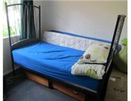 Beautiful wrought iron single bed for sale