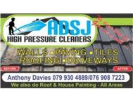 ADSJ. H/Pressure cleaning and Painting services for LESS.