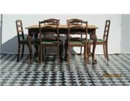 7 PIECE EMBUIA BALL AND CLAW DINING ROOM SUITE