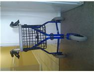 3 wheel trolley with basket for elderley