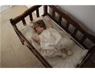 Collectable Doll and Cot