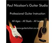 Guitar Lessons - Paul Nicolson s Guitar Studio