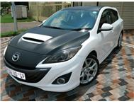 2011 Mazda 3 2.3 MPS 190 kw with carbon fibre wrap