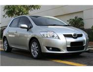 Automatic 2010 Toyota Auris 160 RS ...