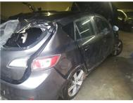 2010 MAZDA 3 1.6i 16VALVE BREAKING UP FOR SPARES LOW MILEAGE