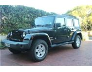 Jeep Wrangler Sahara Unlimited 3.8 V6 Auto