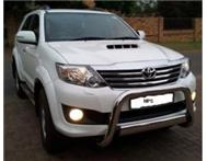 2013 Fortuner Auto 3.0l d4d 4x2...5000km only SAVE R35k