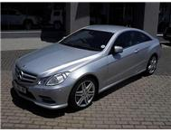 2012 MERCEDES-BENZ E-CLASS E 350 BE Coupe
