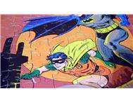 Vintage 1973 BATMAN Jigsaw Puzzle 81 Piece in Mint Condition