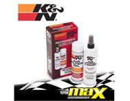 Max Motorsport - K & N CLEANING KIT - FILTER OIL & FILTER CLEANE