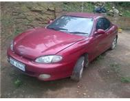 hyundia tiburon fx(non runner) for sale