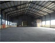 SOUTH OF DURBAN: VARIOUS WAREHOUSE & FACTORY SPACE