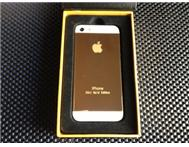 Brand New iPhone 5 24K Gold Edition...