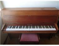 Beautiful sounding upright piano in good condition.