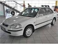 1998 white 160i honda ballade for R27000 (tongaat)