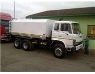 1995 TOYOTA HINO 23247 FITTED WITH 16 000L WATER TANK. PTO SYSTEM