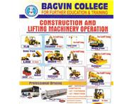 BOILER MAKING AND ALL EARTH MOVING MACHINES.BAGVIN COLLEGE. Education & Training in Training & Education Gauteng Booysens - South Africa