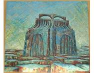 Voortrekker Monument Oil Painting in Art Limpopo Hoedspruit District - South Africa
