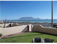 Blouberg Beachfront Apartment with Private Garden Furn or Unfurn