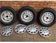 Caravan wheels and rims