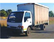 Isuzu NPR400 Curtain side Body Truck-