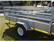 GALVANISED Plus Process GALVANISED SYSTEM USED TRAILERS OPEN