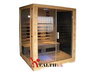 3 person far infrared sauna with light therapy | Ex demo model for sale | Good condition