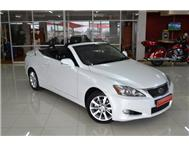 2010 LEXUS IS 250 C Convertible Auto