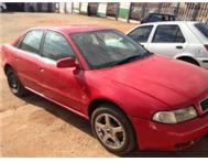 Audi A4 2.0i 1998. needs a new petrol pump. all papers in order