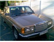 1983 Mercedes Benz 280E W123 Series