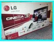 LG 55LM8600 55 3D LED HDTV WITH 6 PAIRS OF 3D GLASSES Johannesburg