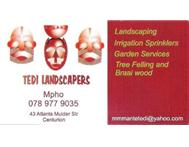 LANDSCAPING AND TREE FELLING Garden Services in Gardening & Pool Care Gauteng Centurion - South Africa