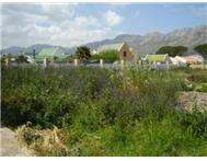 Vacant Land Residential For Sale in ADMIRALS PARK GORDONS BAY