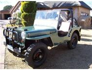 willys cj2 jeep 1948