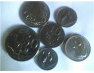 Six Old South African Silver Coins in Antiques & Jewellery Western Cape Rawsonville - South Africa
