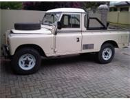 Landrover pickup series 2