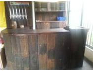 sleeperwood bar cabinet and stools for sale benoni