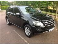 2009 MERC ML 320 CDI FACELIFT MMA WHOLESALERS