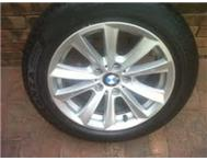 17 Inch BMW 2012 5 series mags with...