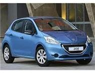 Drive and own a new Peugeot 208 ACCESS 1.2 VTI from R 1799 p/m