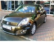 SUZUKI SWIFT SPORT 2012 DEMO BLACK