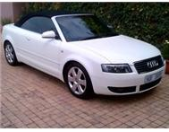 CONVERTIBLE - AUDI A4 3.0 MULTITRONIC - IMMACULATE . BEAUTY